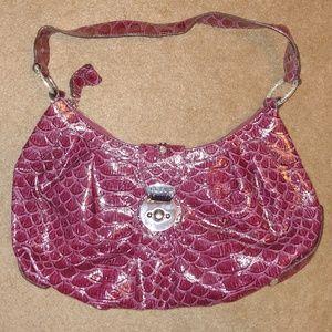 Guess Animal Print Shoulder Bag